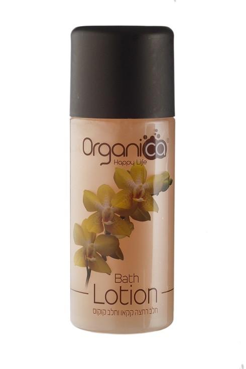 """תחליב רחצה טבעי בריח בושם קקאו קוקוס אורגניקה 500 מ""""ל Organica"""