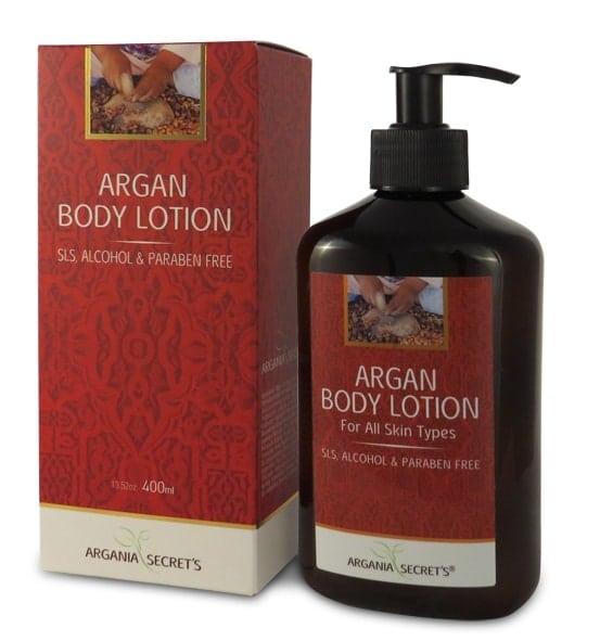 קרם גוף ארגן אדום קרטין ARGANIA`S SECRETS BODY LOTION ARGAN RED