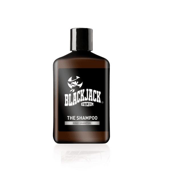 שמפו לגבר עם שיער אפור – בלאק ג'ק